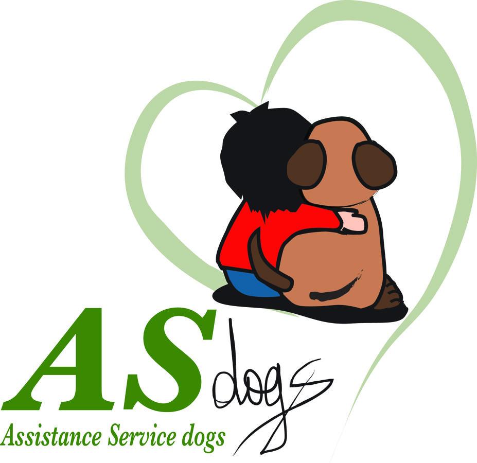 assistance service dogs Logo